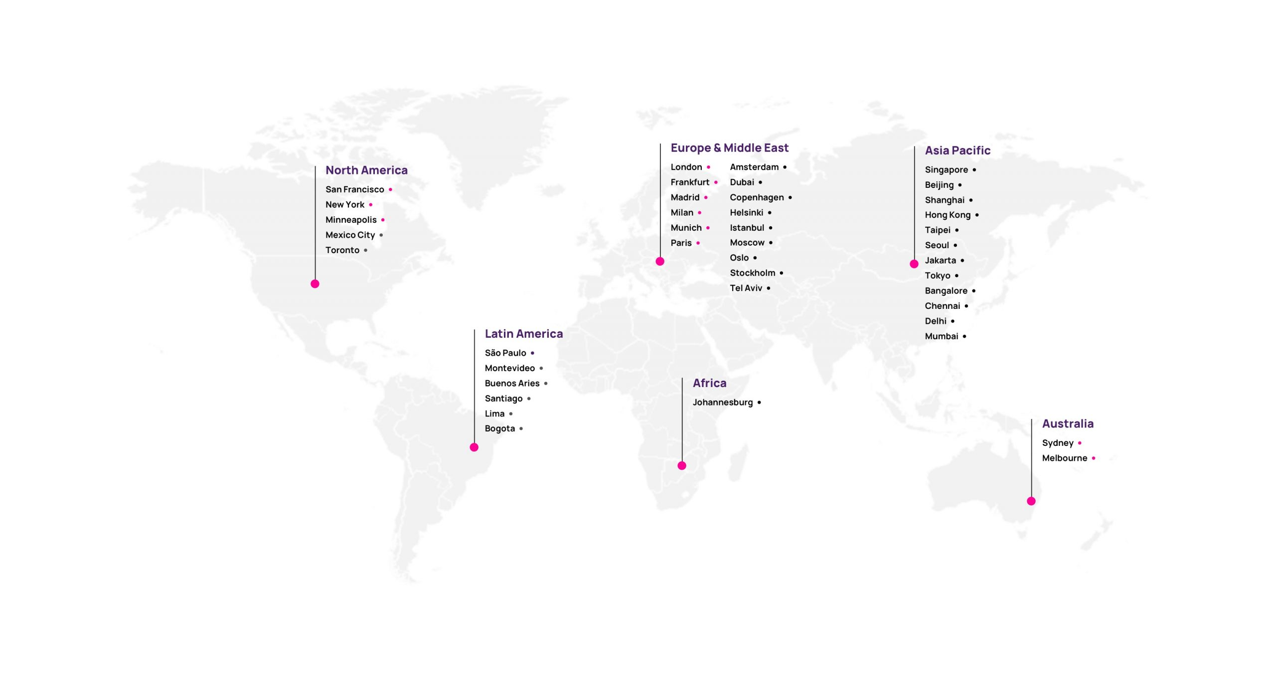 Hotwire Global Partners Map